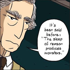 Bertrand Russell from Logicomix
