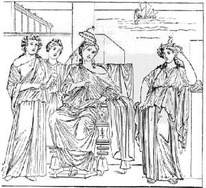Dido, Founder and Queen of Carthage.