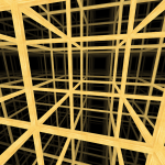 Inside the cubic honeycomb