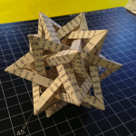 Compound of 5 tetrahedra