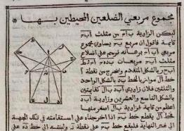 Nasir al-Din al-Tusi's 13th century arabic translation of Euclid's proof.
