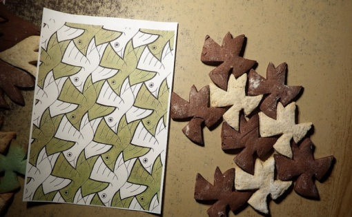 Escher cookies 1