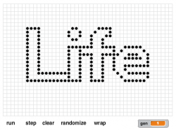 puttering's Scratch version of Conway's Game of Life