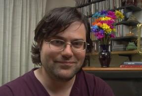Alexandre Owen Muñiz, Author of Puzzle Zapper.  (click for an interview video about Alexandre's interactive fiction)