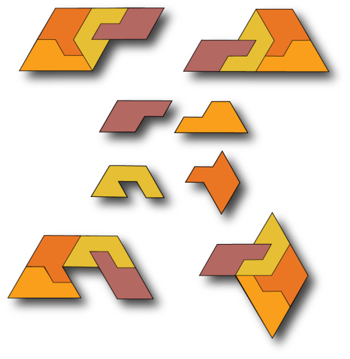 A family of self-tiling tiles