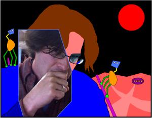 Richard Evan Schwartz (self-portrait)
