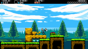 Shovel Knight must rescue his friend Shield Knight in a timeless tale of shovelry.