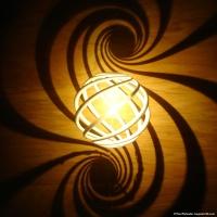 Spiral shadows!