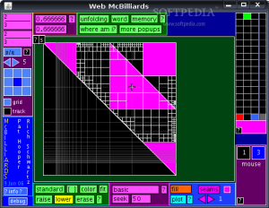 McBilliards, Rich's software for studying closed billiard paths in triangles.