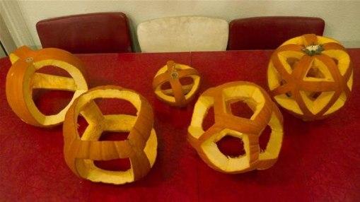 Pumpkin polyhedra