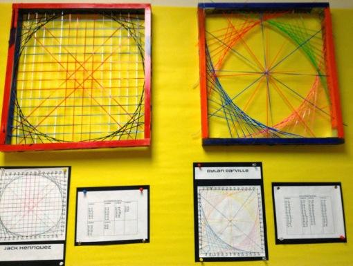 String art big circle