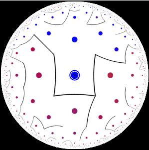 hyperbolic maze 1