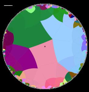 hyperbolic maze