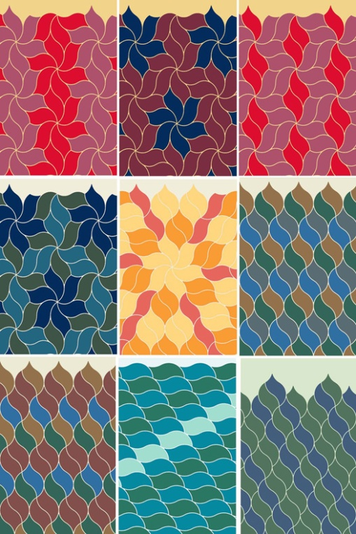 A gorgeous and flexible tile design by Gabor Gandos